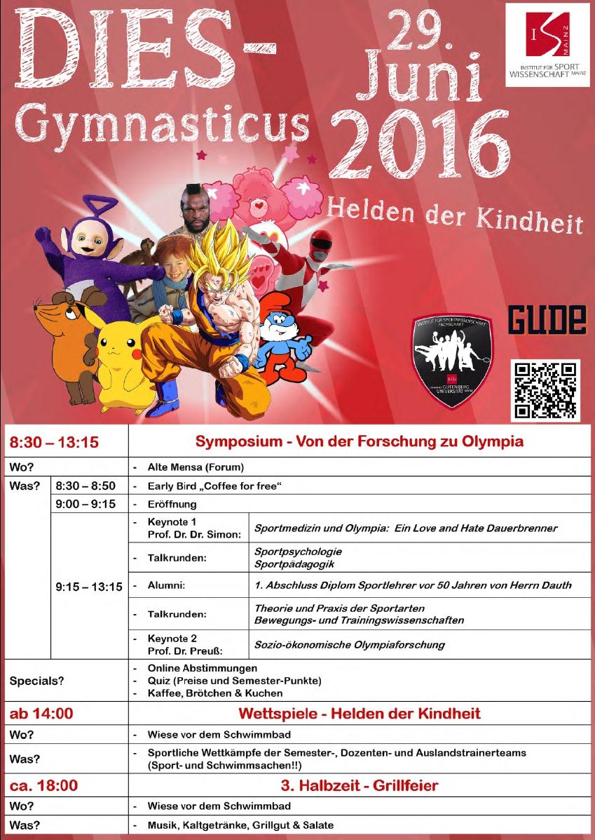 Dies Gymnasticus am 29.06.2016