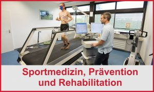 Abteilung Sportmedizin, Prävention & Rehabilitation